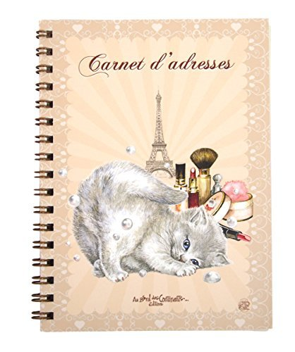carnet d'adresses chats enchantés