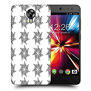 Snoogg Small Stars Glowing Printed Protective Phone Back Case Cover For Micromax Canvas Nitro 4G