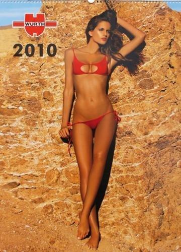 Würth EROTIK officina Calendario & # x2606; & # x2606; & # x2606; 2010& # x2606; & # x2606; & # x2606; Calendario–Calendar–Calendrier–Calendario–Foto Calendario–Calendario da parete * * *