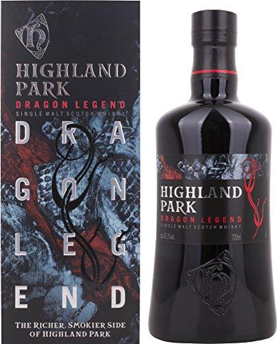 Highland Park Dragon Legend Single Malt Scotch Whisky mit Geschenkverpackung (1 x 0.7 l)