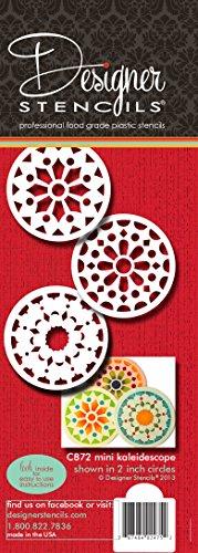 Mini Kaleidoskop von Designer Schablonen