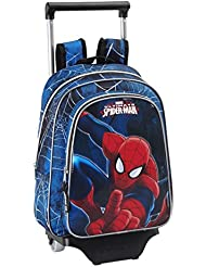 Safta 077147 Spiderman Mochila Infantil, Color Azul Marino