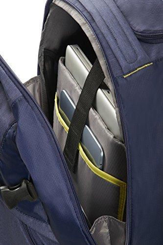 Imagen de samsonite rewind 55/20  tipo casual con ruedas, 55 cm, 32.5 l, color azul dark blue  alternativa