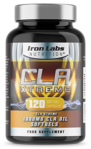 CLA Xtreme - 1000mg x 120 Softgels | Ultimate CLA Supplement | Conjugated Linoleic Acid | No.1 CLA Sports Supplement