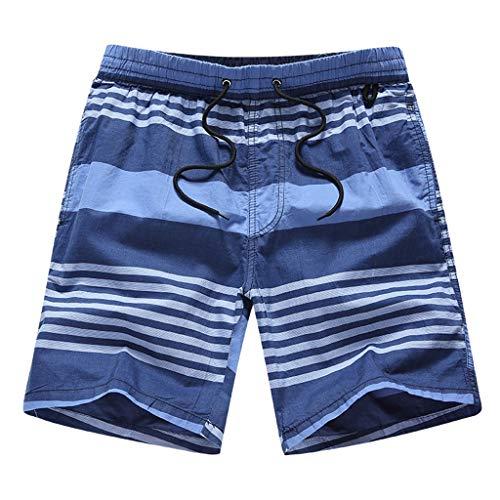 Oliviavan Herren Shorts,2019 New Summer Beach Board Shorts Quick Dry Casual Cargo Pants with Pockets Printed mode Strandhosen-Outfits Urlaub Kleidung Pants Hawaii Aloha Kleidung - Aloha Pants