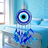 #10: Reiki Crystal Products Evil Eye Dream Catcher Wall Hanging for Positive Energy and Protections 35 x 15 cm Approx
