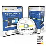 Microsoft® Server 2016 Standard 16Core DVD mit original Lizenz. Papiere & Lizenzunterlagen von S2-Software GmbH & Co. KG