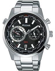 Pulsar Herrenuhr Analog Quartz Stahl Silber PY7005X1