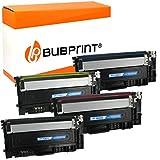 4 Bubprint toner kompatibel med Samsung CLT-P404C för Xpress C430 C430W C480 C480FN C480FW C480W SL-C430 SL-C430W SL-C480 SL-C480FN SL-C480FW SL-C480W multipack