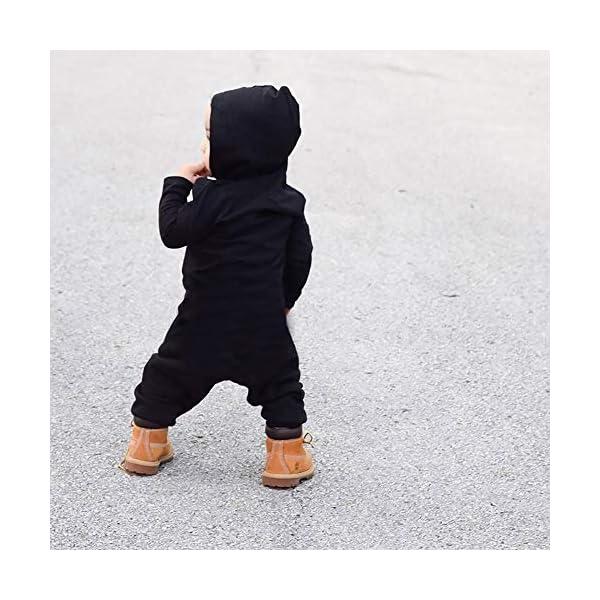 Trisee Ropa de Unisexo bebé Niñas Niños Manga Larga Otoño Invierno Patrón de Letras Camisetas Recien Nacido Trajes Monos… 5