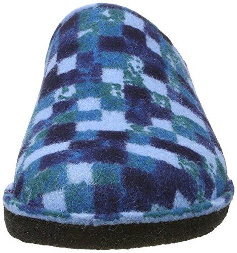 Flair Pp23 Blue Pantofole Unisex Muli Jeans Haflinger 1qd5g1
