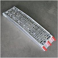 Rampa per officina in alluminio Cross, pieghevole, L: 225cm x B: 28,5cm