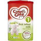 Cow & Gate First infantile Lait de nouveau-né Étape 1 900g ( x 900g)