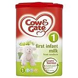 Cow & Gate Etapa 1 Primera Leche infantil de Nacimiento - 1 x 900g