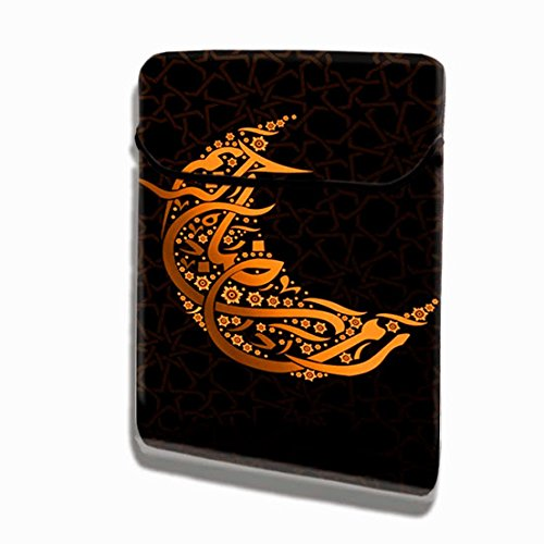Theskinmantra Eid Ka Chand vertical laptop sleeve / slip case / designer...