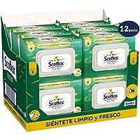 Scottex Sensitive Papel Higiénico con Aloe Vera - 12 paquetes de 70 unidades - Total: 840 Unidades