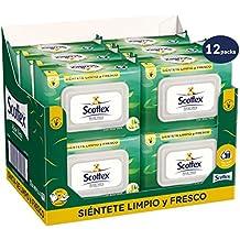 Scottex Sensitive Papel Higiénico con Aloe Vera - 12 paquetes de 70 unidades - Total: