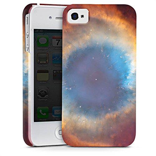 Apple iPhone X Silikon Hülle Case Schutzhülle Space Galaxy Helix Nebel Premium Case glänzend
