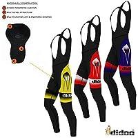 Didoo Pro Men's Cycling Bib Tights Padding Thermal Bike MTB Cold Wear Long Pants