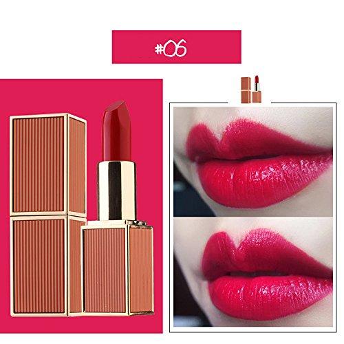 Lipgloss,Rabatt,PorLous 2019 Beliebt 1 Stücke Lippenstift Feuchtigkeitscreme Samt Lippenstift Makeup Beauty Makeup Feuchtigkeitsspendend 6