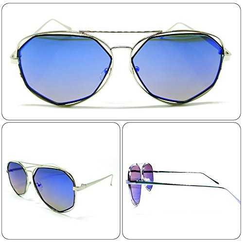 see vision Sonnenbrille Sunglasses Herren Damen Unisex alternativ Aviator Art. A552017