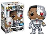 Figura Cyborg Exclusive 212 Funko POP. Vinyl Justice League