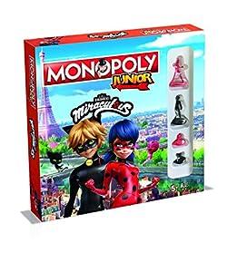 Winning Moves GmbH WIN45601 Monopoly Junior Miraculous - Juego de Mesa (Contenido en alemán)
