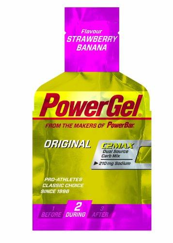 Powerbar PowerGel Erdbeer-Banane, 6er Pack (6 x 41 g)