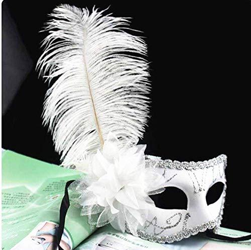 Xiao-masken New Mystery Sexy Lady Federn Venedig Tanzmaske Maskerade Kostüm Halloween Party Zubehör (Batman Code Kostüm)