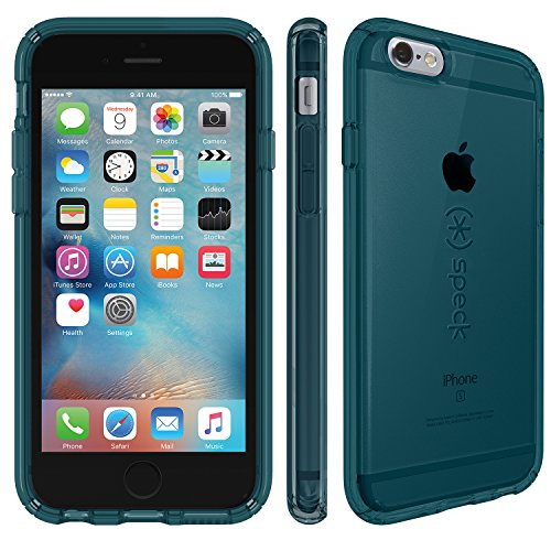 Speck Hard Case Candy Shell für Apple iPhone 6/6S 11,3 cm (4,7 Zoll) clear Rainstorm Blue