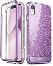 i-Blason Cosmo Full-Body Glitter Bumper Case for iPhone XR 2018 Release