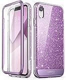 i-Blason Coque iPhone XR, Coque Complète Paillette Brillante Bling Bling Glitter...