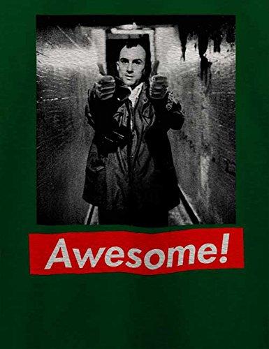 Awesome 72 T-Shirt Dunkel Grün