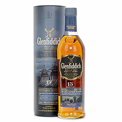 Glenfiddich 15 Year Old Distillery Edition Single Malt Scotch Whisky (Case of 6 x 70cl Bottles)