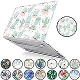 Il più nuovo MacBook Air 13 pollici Case A1932 PapyHall Tropical Palm lascia la custodia rigida di plastica per MacBook Air 13 pollici con Touch ID 2018 Release A1932 Ball Cactus