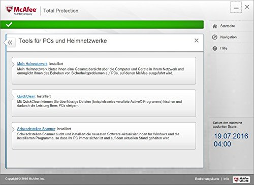 McAfee Total Protection 2017 | 5 Geräte | 1 Jahr | PC/Mac/Smartphone/Tablet | Download - 4