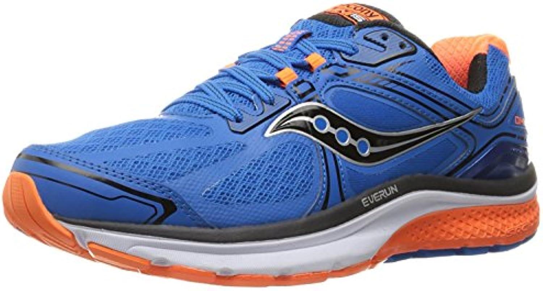 Saucony Men's Omni 15 Running Shoe, Blue/Orange/Blue, 40 EU/6 UK