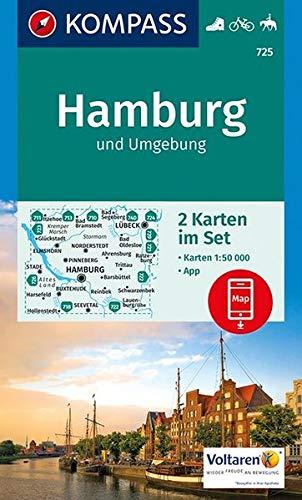 Hamburg und umgebung 725 1/50.000