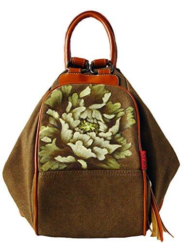 MatchLife, Borsa tote donna Style1-Khaki Style1-Brown