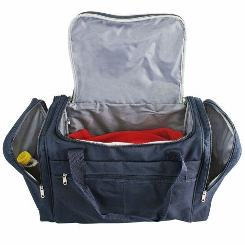 D&N Bags & More Reisetasche 54 cm Blau