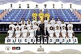Close Up Real Madrid Poster Mannschaft Saison 2019/20 (91,5cm x 61cm)