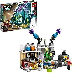 LEGO - Hidden Side Laboratorio de Fantasmas de J. B. Juguete de construcción Interactivo con realidad aumentada, Novedad 2019 (70418)