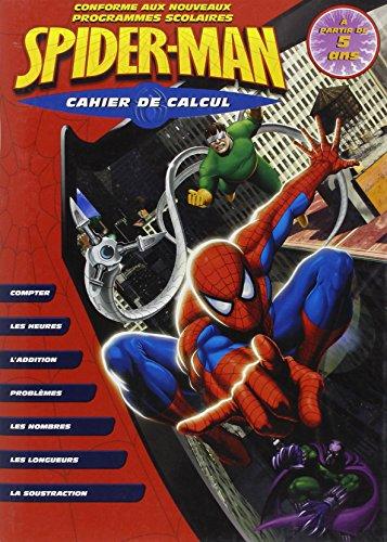 Cahier de calcul Spider-man (5/7 ans)