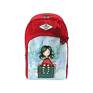 Mochila – Mochila Escolar Triple Bolsillo Gorjuss My Story Adaptable A Carro – -5% En Libros