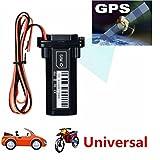 SO-buts GPS Tracking Finder/Smart GPS Tracker Mini Eingebaute Batterie Locator für Motorrad Fahrzeuge (Schwarz)