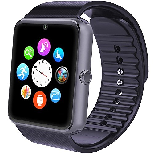 Smartwatch Android, Willful Smart Watch Telefono con SIM Card Slot Fotocamera OLED Orologio Fitness Sport Android Wear Pedometro Bluetooth per Donna Uomo Bambini per iPhone Samsung Sony Android iOS...