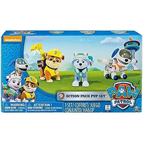 Paw Patrol Set Everest, Robo-Dog e macerie cucciolo di azione