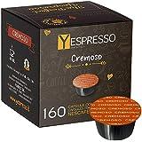 Yespresso compatibili Nescafe Dolce gusto Cremoso - 10 confezione da 16 capsule, 160 capsule