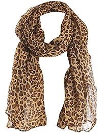 afa1e0a97 Webla Women Ladies Leopard Printing Long Scarf Warm Wrap Shawl Soft Scarves