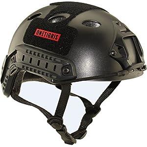 onetigris Casque de protection pour airsoft/paintball Fast multifonction sport casque casque tactique sans lunettes de natation